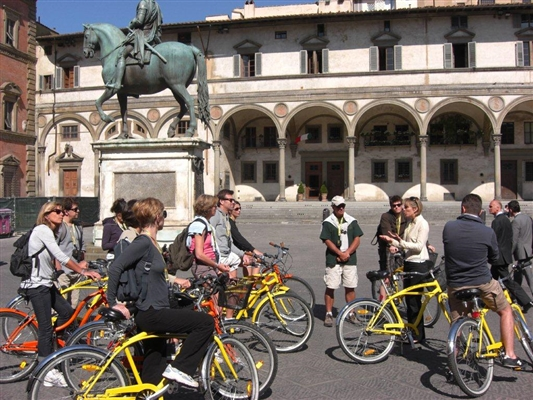 Food Bike tour in Florence